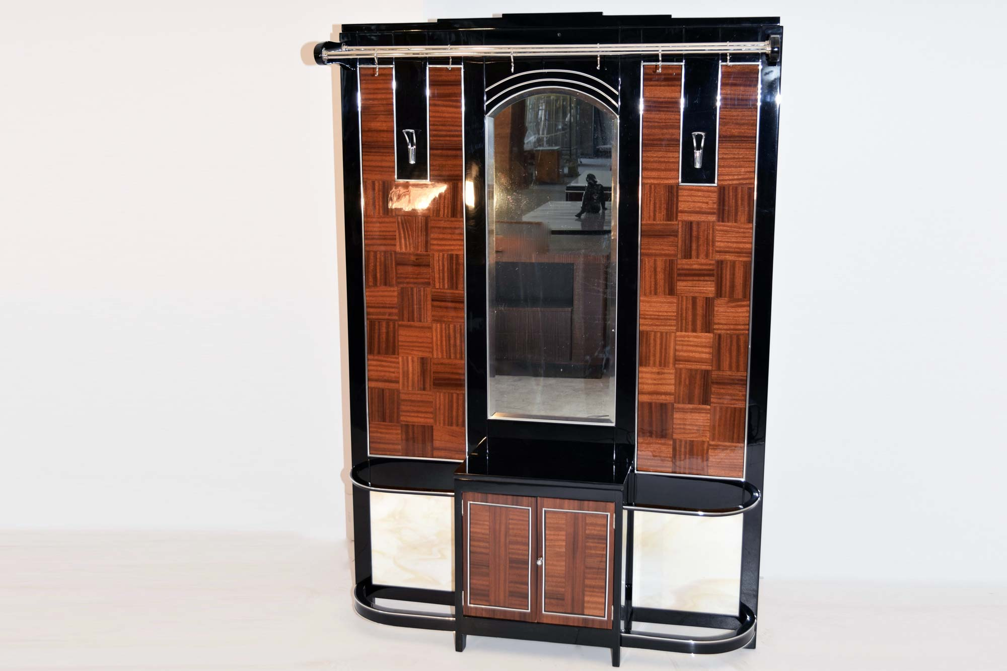 Art Deco Garderobe Art Deco Garderobe Mahagoni B134xh195xt20 Panthers And Woods