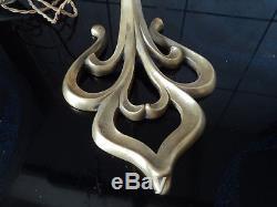 pied de lampe bronze tulipe daum muller galle art deco nouveau pate de verre
