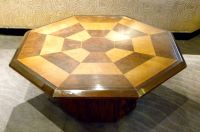 Original Two-tone Octagon Coffee Table | Small Tables ...