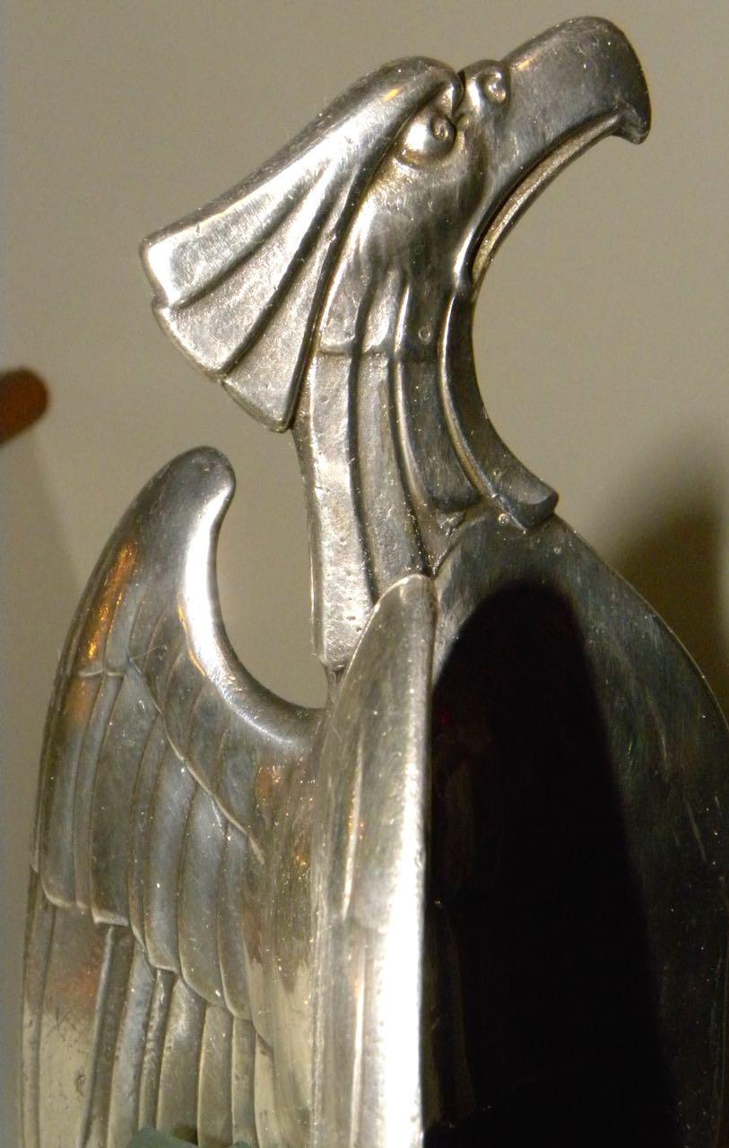 Art Nouveau Silver Eagle Centerpiece by WMF  Sold Items Tableware  Art Deco Collection