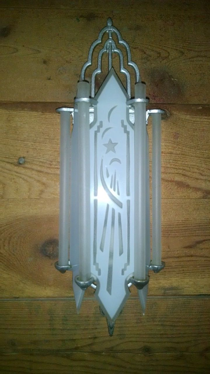 Phone Wiring Accessories Art Deco Movie Theater Style Sconces Sold Items Sconces