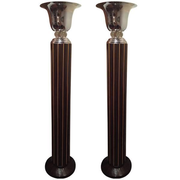 Art Deco Lighting Torchiere And Floor Lamps