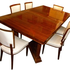 Dining Room Table And Chairs For Sale Wingback Chair Covers Australia Art Deco Furniture Tables