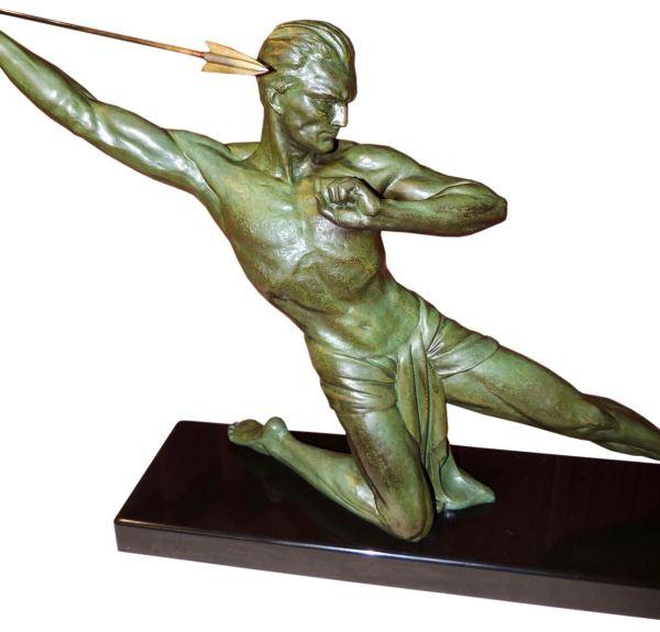 Art Deco Statues and Sculptures