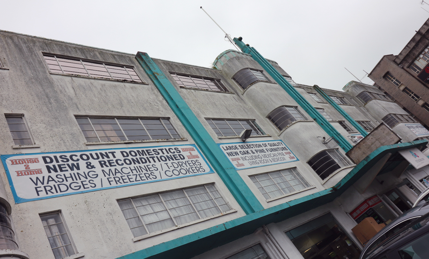 Assets or Eyesores? Plymouth's Art Deco Survivors