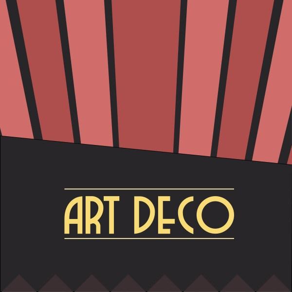 Art Deco Book Cover Design