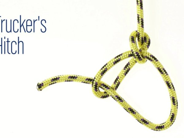 How to Tie a Knot: The Bowline Knot and the Trucker's Hitch Knot