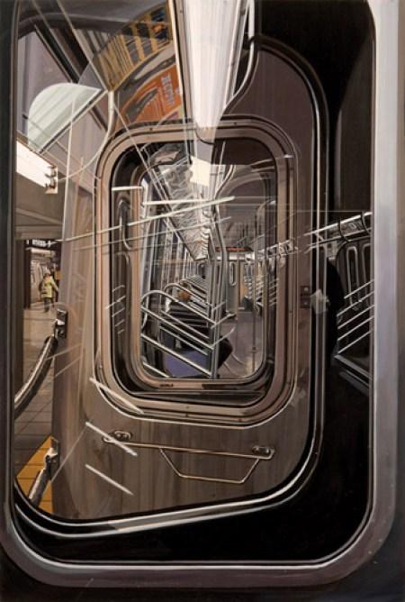 "Richard Estes, ""The L Train"" (2009)"
