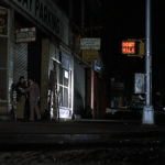 Mean Streets (1973) | Martin Scorsese production design | Martin Scorsese Films | Harvey Keitel and Robert DeNiro on streets of New York