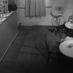 Who's That Knocking At My Door (1967) | Martin Scorsese production design | Martin Scorsese Films | Bar closing time with bar stools up on bar