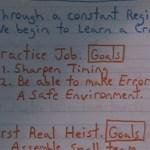 Bottle Rocket (1996) | Heist Plan, Practice Plan Goals, First Real Heist Goals | Binoculars shot | Director: Wes Anderson | Production Designer: David Wasco | Wes Anderson Production Design Porn