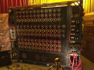 Bletchley Park Museum- Turing Machine