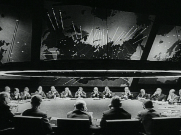 Dr.Strangelove War Room - Perspectives on Production Design