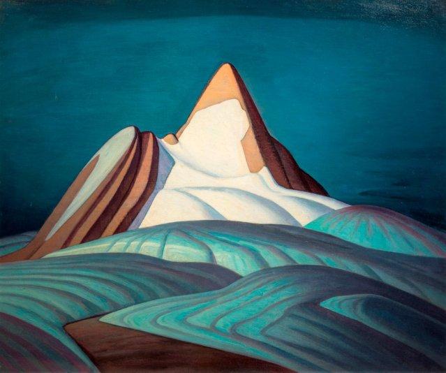 Isolation Peak by Lawren Harris / Mystical landscapes AGO Exhibit