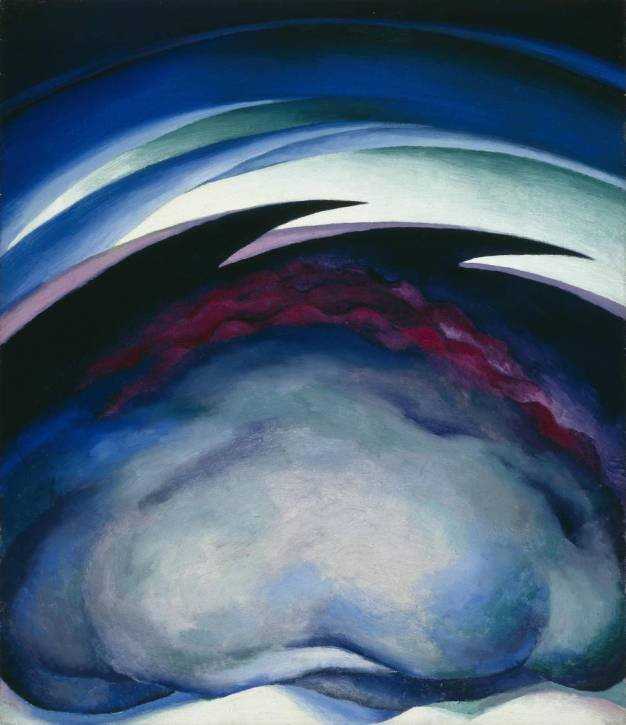 Series I -from the Plains, by Georgia O'Keeffe, 1919, oil on canvas