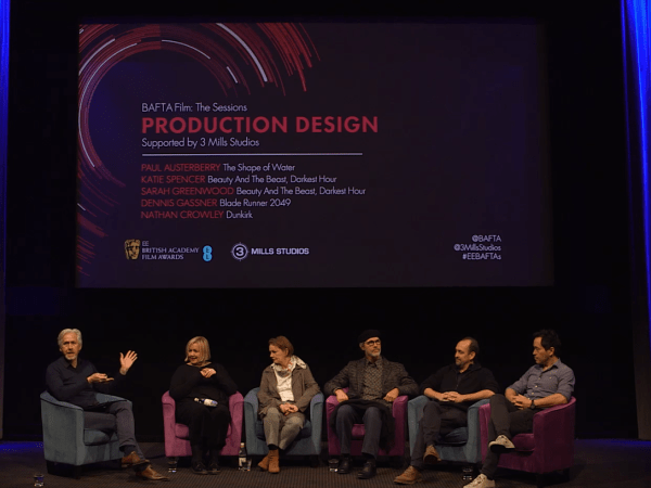 BAFTA Production Design Panel