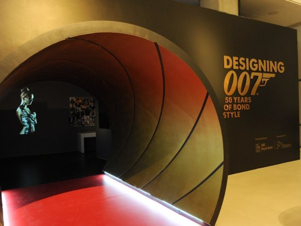 Designing 007: Fifty Years of Bond Style