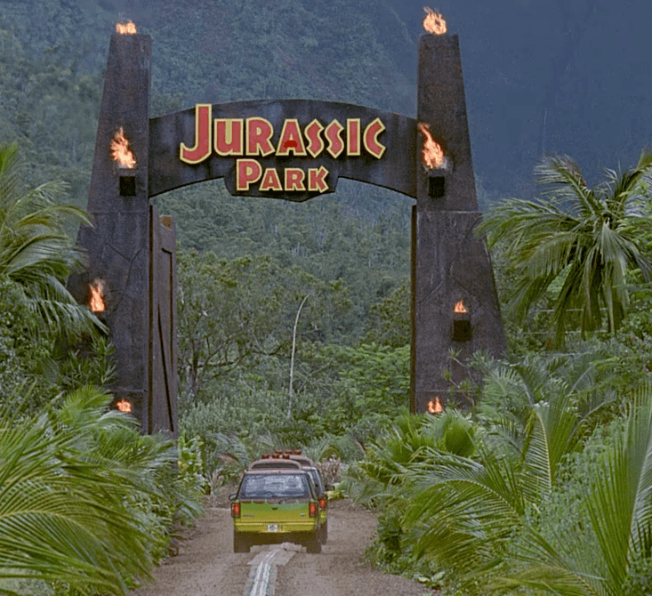 Jurassic Park Graphic Design
