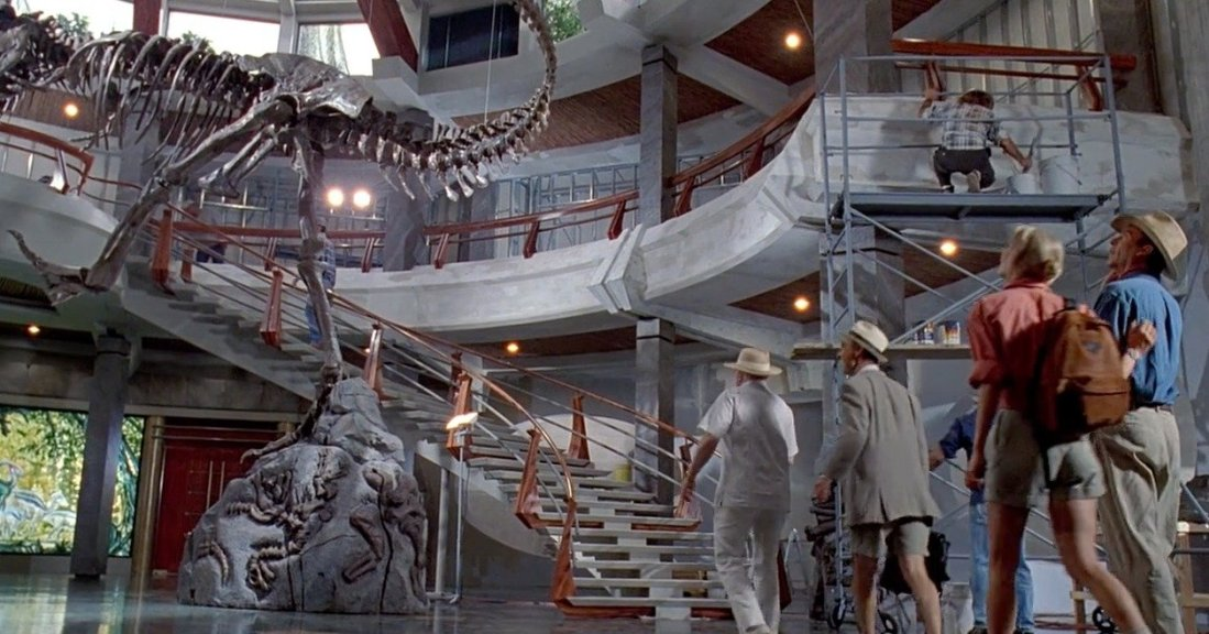 Jurassic Park Production Design