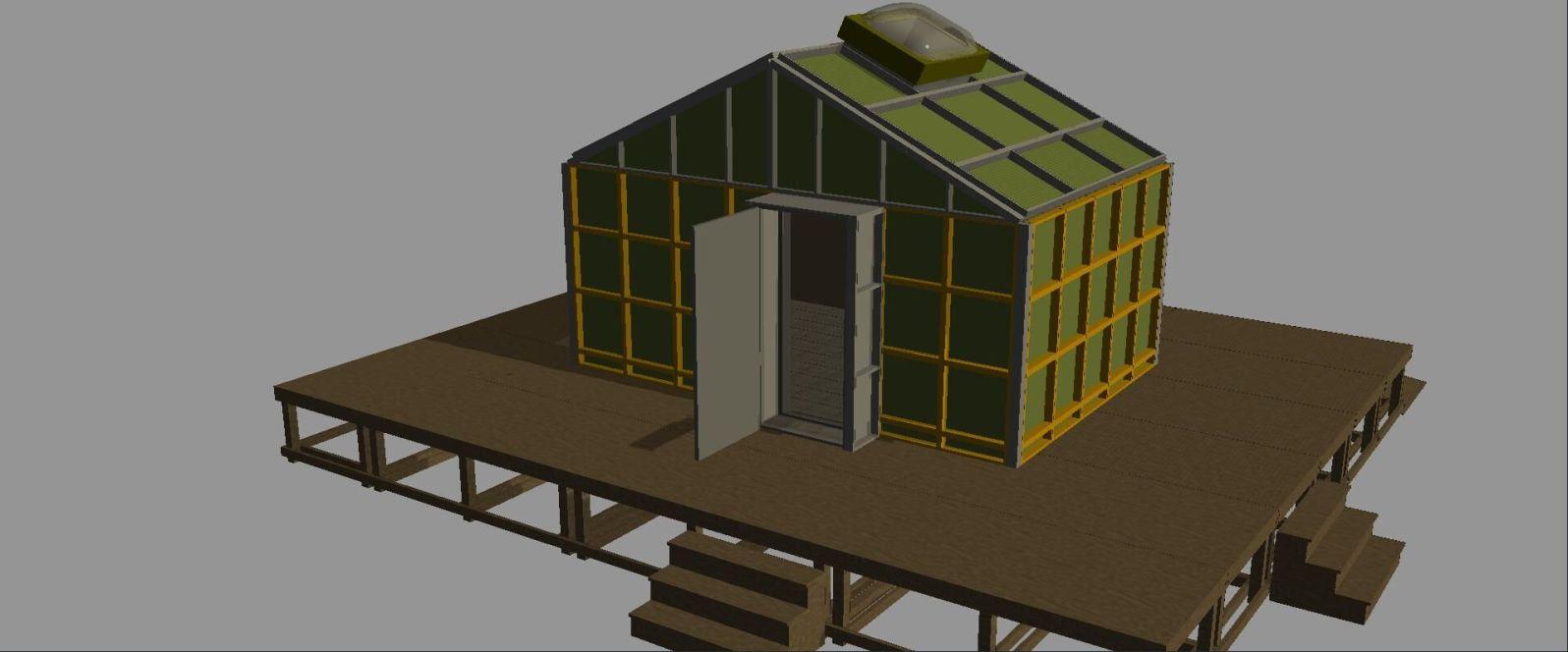 Sketchup model- exterior