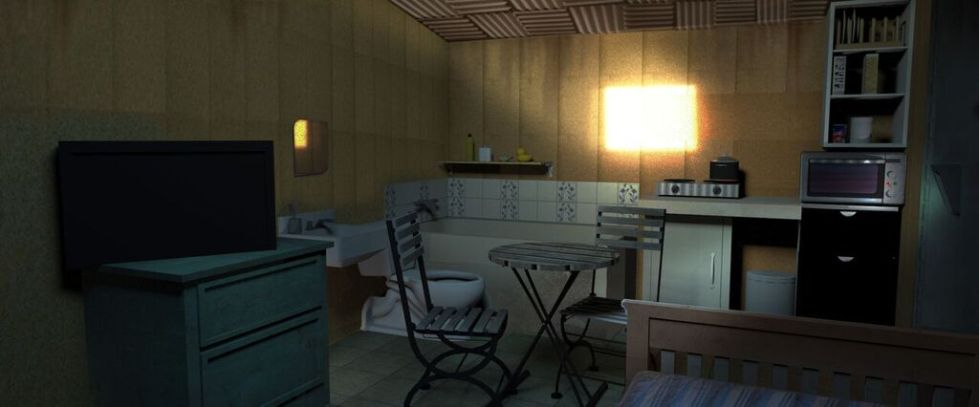 Sketchup model- interior
