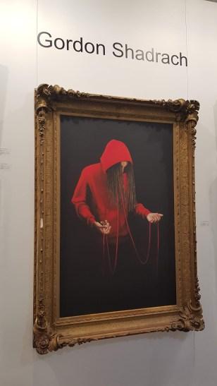 Artist Gordon Shadrach at The Artist Project