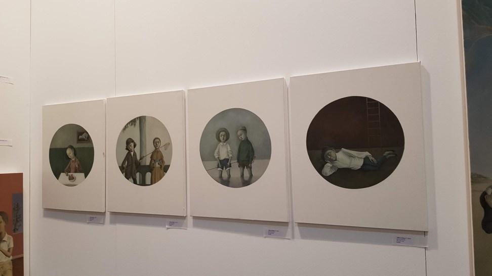 Artist Eunshin Grace Kim at The Artist Project 2019