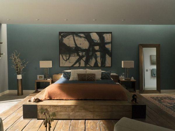 Big Little Lies Production Design   Production Designer John Paino   Set Decorator: Amy Wells   Set design of Celeste's bedroom