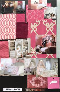 Sharp Objects | Crellin House- Amma's Bedroom Moodboard | HBO