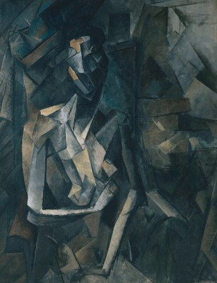 Seated Nude 1909-10 Pablo Picasso 1881-1973 Purchased 1949 http://www.tate.org.uk/art/work/N05904