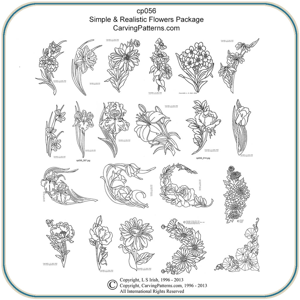 Free Relief Wood Carving Patterns Pdf