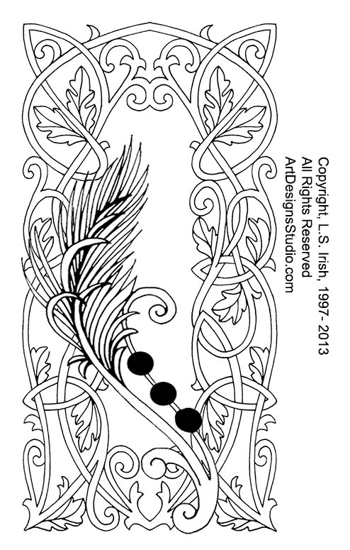 graphic about Printable Leather Tooling Patterns identify Pyrography Leather-based Magazine \ Webpage 3 \ Clic