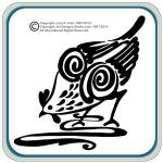 Pottery Birds Carving and Painting Patterns