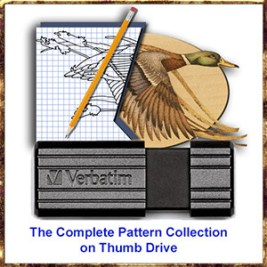 The Complete Pattern Collection on Thumb Drive