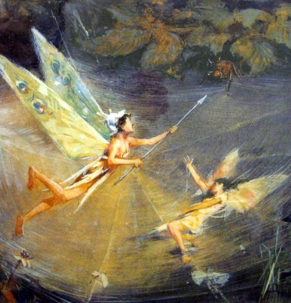 Packet #21. English Victorian Fairy Art Evergreen Discovery