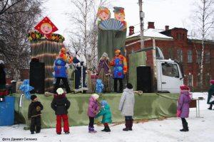 праздник Масленицы в Романове