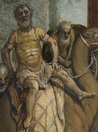 Pieter Aertsen, The Adoration of the Magi, c.1560. Detail