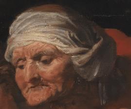 Sir Anthony van Dyck, Samson and Delilah, c. 1618–20, Detail
