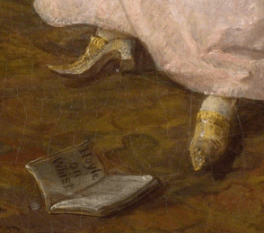 William Hogarth The Tête à Tête, 1743, Detail