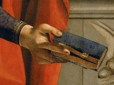 Piero di Cosimo, Immaculate Conception with Six Saints, c.1505. Detail
