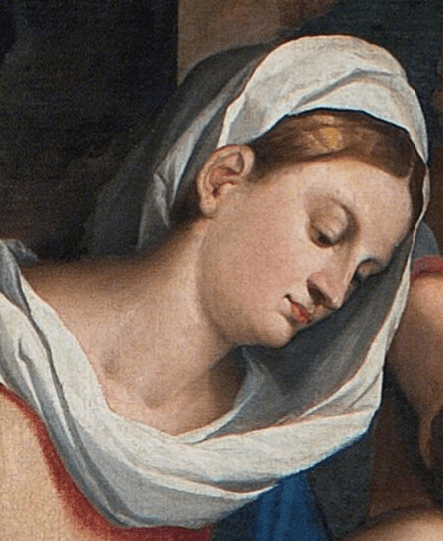 JacopJacopo Palma il Vecchio Adoration of the Magi in the Presence of Saint Helen 1525-1526, Detailo Palma il Vecchio Adoration of the Magi in the Presence of Saint Helen 1525-1526, Detail