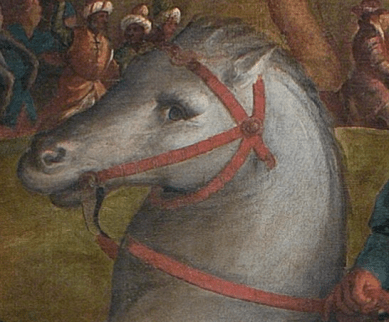 Jacopo Palma il Vecchio Adoration of the Magi in the Presence of Saint Helen 1525-1526, Detail