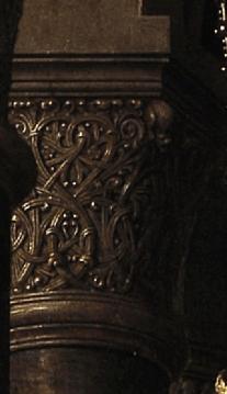 Jan van Eyck Virgin and Child with Canon van der Paele 1436. Detail