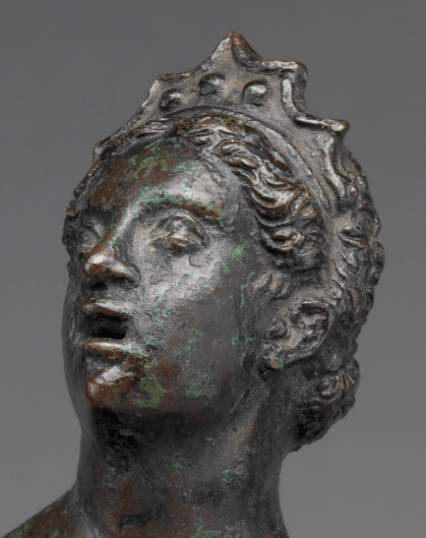 16th, Severo Calzetta da Ravenna, Bronze, Metropolitan Museum of Art, New York. (01). Detail