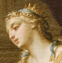 1720s, Andrea Casali, Anthony and Cleopatra, Blanton Museum of Art, Austin, Texas. Detail