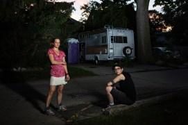 Neighborhood Series, Mary and Jillian, Riverwest, 2015