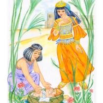 Illustration - Biblical stories, watercolor