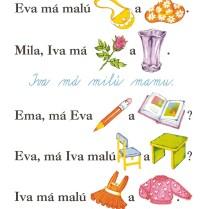 Illustration - Spelling book Lipka - 2004, watercolor