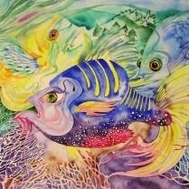 Harmony, 60x70 cm, watercolor