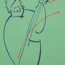 Portrait - Makar, 30x20 cm, acryl, canvas